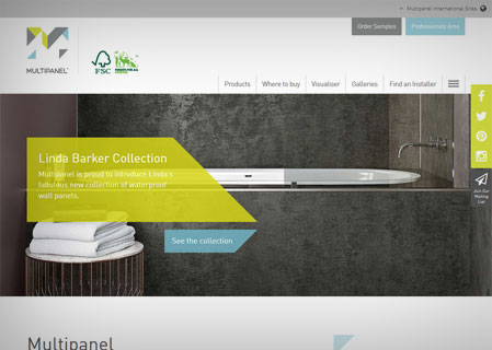 Multipanel Website by RF